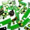 Compatible lexmark X264 toner chip