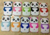 3D Cute white Panda Silicone Case FOR IPOD TOUCH 4 4G 4TH GEN