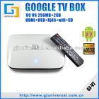 Google TV Android 2.2 Internet Box, Google Android 2.2 WiFi TV Box, Full HD Internet TV Box