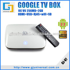Google TV Android 2.2 Internet Box, Google Android 2.2 WiFi TV Box, Full HD Internet TV Box