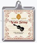 SSV001 Violin String(Steel Metal Alloy Soft-inside)/Accessory