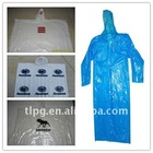 lowest price poncho one time PE raincoat