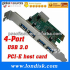 USB 3.0 super speed,PCI express card