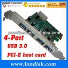 USB 3.0 super speed,PCI express card