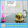 Leaf shape Stainless Steel Silicone Tea tea Filter