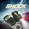 The lowest price BYSUN Electric Shock LED Car Remote Control Alarm Shocking Key Gag Gift Joke