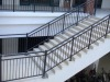 galvanized steel pipe stair handrail ISO9001:2000 certificated product