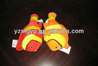 lovely plush stripe fish toy