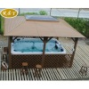 outdoor gazebo with jacuzzi