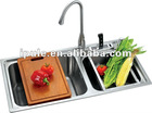 Aipule High Quality 18/8S.S Kitchen Topmount Sink
