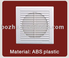 air exhaust fan for hotel window mounted 4,5,6,8 inch ABS plastic