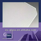 3.2mm 4mm tempered low iron patterned glass with CE and ISO