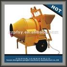 ready mix concrete mixer for small family JZC concrete mixer