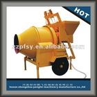 ready mix concrete mixer for small family JZC concrete mixer