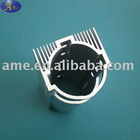 Extruded aluminium alloy heat sink