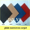 plain nonwoven carpet