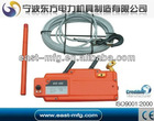 wirerope hand wrenching tackle block