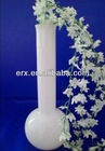Opal glassware long neck glass vase manufacture