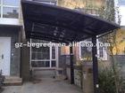 polycarbonate carport canopy with aluminium frame
