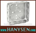UL standard 2 Gang Steel Junction Square Box