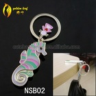 newest foldable nail-scissor design hold 9 kg keychain table purse hanger NSB02