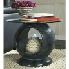 Resin Indoor Coffee Table With Fountain