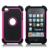 Hotsale triple defender case for iPod touch 4