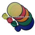 Colorful Nylon Foldable Frisbee