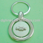 zinc alloy Chevrolet logo keychain