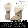 High quality double face sheepskin snow boot classic women fashion winter boot