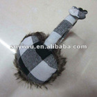 1367002 Winter Plaid Bow Ear Muffs Earmuff