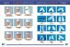 WHITE ANTI-STATIC CLEANROOM CAP AND SHOE