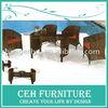 Outdoor furniture rattan dining set
