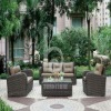 New design Top manufacturer outdoor wicker set sofa furniture
