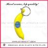 customized banana design soft pvc keychain
