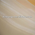 sparkle ivory organza fabric silk for wedding dress