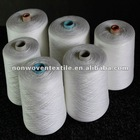 40s/2 wholesale textile paper tube or coned 100% polyester spun yarn