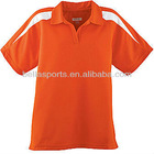 Wholesale Sportswear Ladies Wicking Textured Plain Sport Polo Shirt