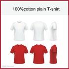 100% cotton plain t-shirts