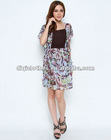Latest dress designs for ladies,lady fashion lace casual dress