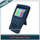 CCTV TesterPRO 3.5TFT-LCD Monitor / PTZ Controller / Video signal generator / DC12V1A Power Output / Audio Input Test / RS485