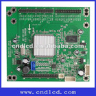 Adaptor board drive 120hz LCD display