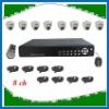 IR dome camera DVR kit 8 channel