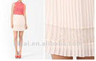 2012 fashion short white skirt