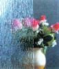 Pattern glass - rain