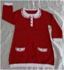 kids cotton sweater 12GG