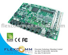 IXP435 based MonteGold Router Board with 5 port LAN / WAN + VoIP (FXO/FXS) + MiniPCI slot for Wireless + PCI for Gigabit Eth