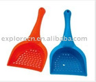 Plastic cat littler scoop