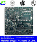 immersion gold pcb with high tg/bga/ golden finger for game board