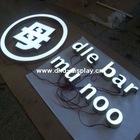 front light led resin letter sign